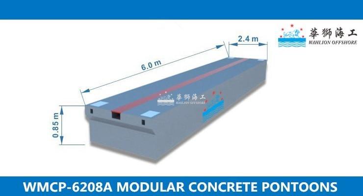 WMCP-6208A Concrete Pontoon