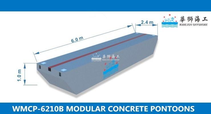 WMCP-6210B Concrete Pontoon