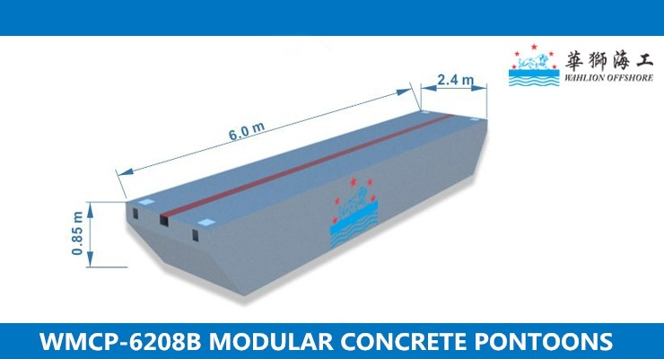 WMCP-6208B Concrete Pontoon