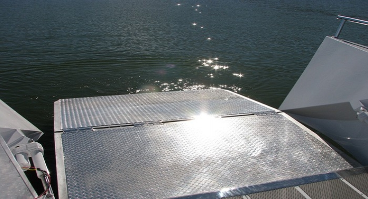 WAR-01 Marine Aluminium Alloy Ramps